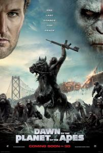 dawn of the planet of the apes Poster 2014